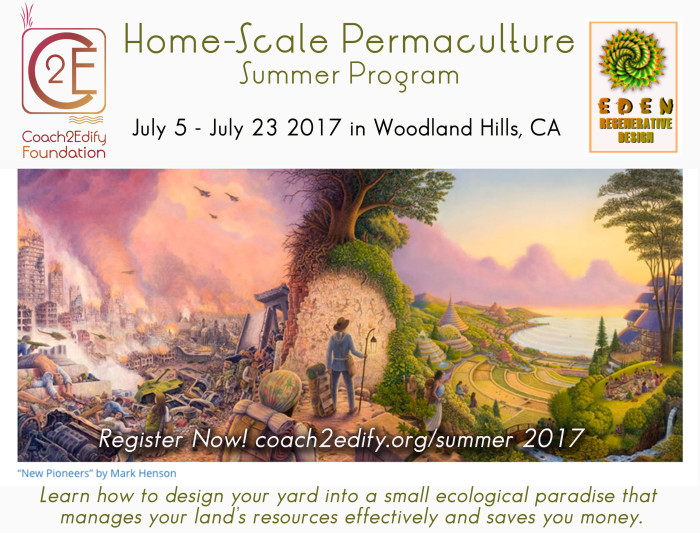 Home-Scale Permaculture Billboard